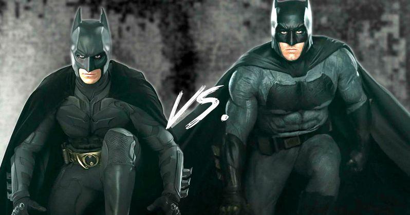 Watch Ben Affleck Hilariously Imitate Christian Bale's Batman