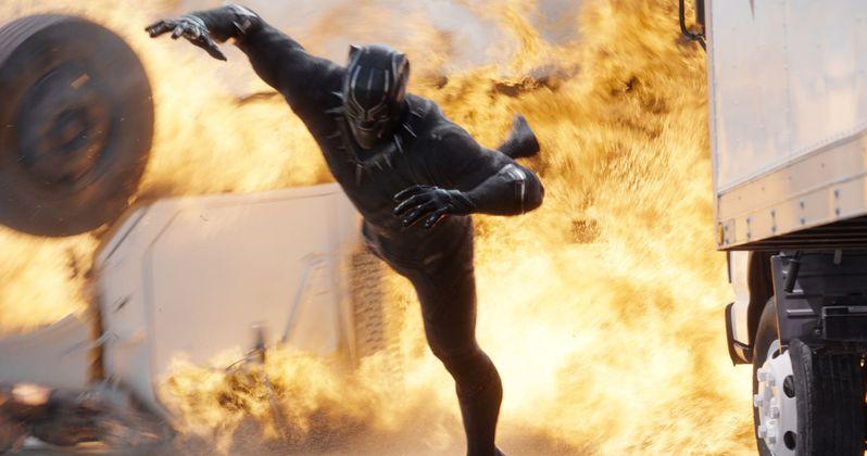 Black Panther Strikes Back in Captain America: Civil War Featurette