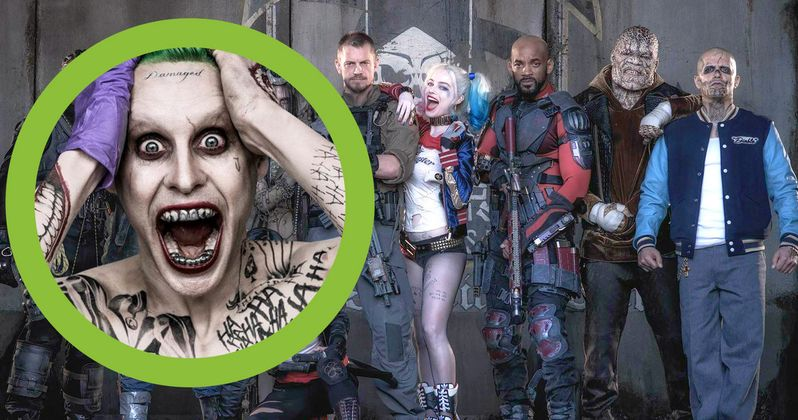 Suicide Squad Cast Get Creepy Joker Inspired Gifts from Jared Leto