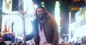 Jason Momoa Surprises Fans at Aquaman Screening in New York