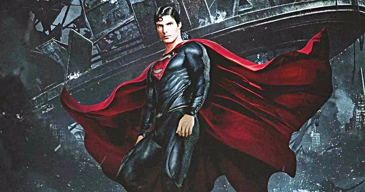 Christopher Reeve Is the Man of Steel in Fan Art Featuring Henry Cavill's Superman Suit