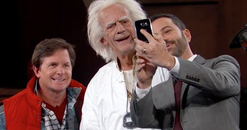 Watch Marty & Doc Brown Reunite on Jimmy Kimmel Live