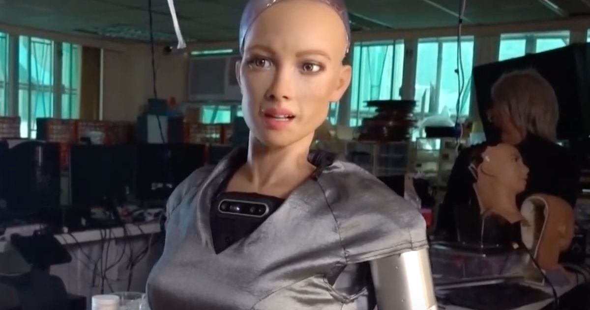 Sophia the Robot's Self-Portrait NFT Sells for Almost $700K