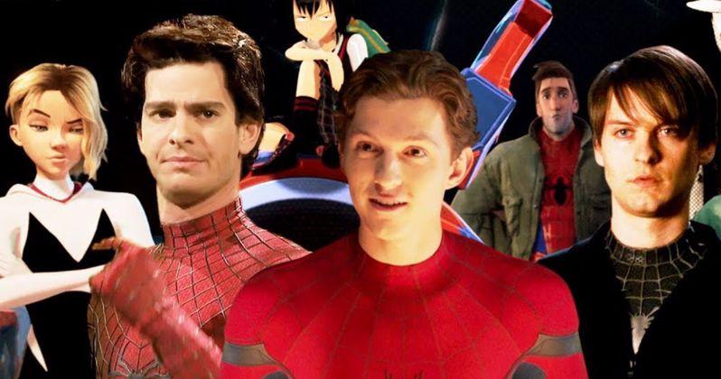 Spider-Man: Far from Home Weird Trailer Spirals Into a Mind-Melting Multiverse