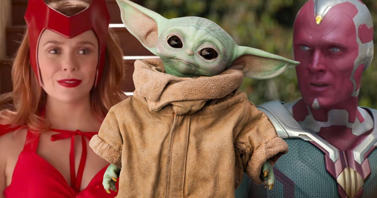 Дает ли 'WandaVision' MCU собственный момент, когда ребенок Йода?