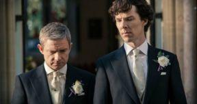 Sherlock Season 3 Photos Tease New Villain and a Wedding