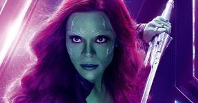 How Zoe Saldana Felt About Gamora's Big Moment in Infinity War