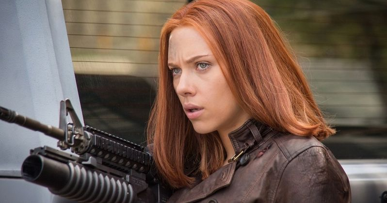 Sixth Captain America: The Winter Soldier TV Spot and New Black Widow Photos