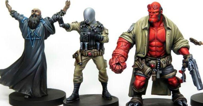 Hellboy Board Game Goes Crazy on Kickstarter