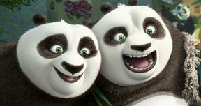 First Kung Fu Panda 3 Photos Reunite Po and His Dad