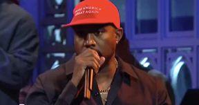 Kanye West Booed on SNL After Pro-Trump Rant Slamming Mainstream Media