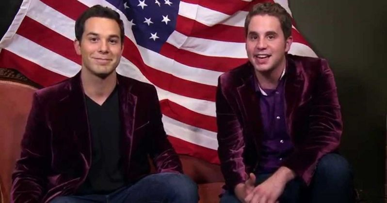 Pitch Perfect 2 Stars Sing a 4th of July a Capella Duet!