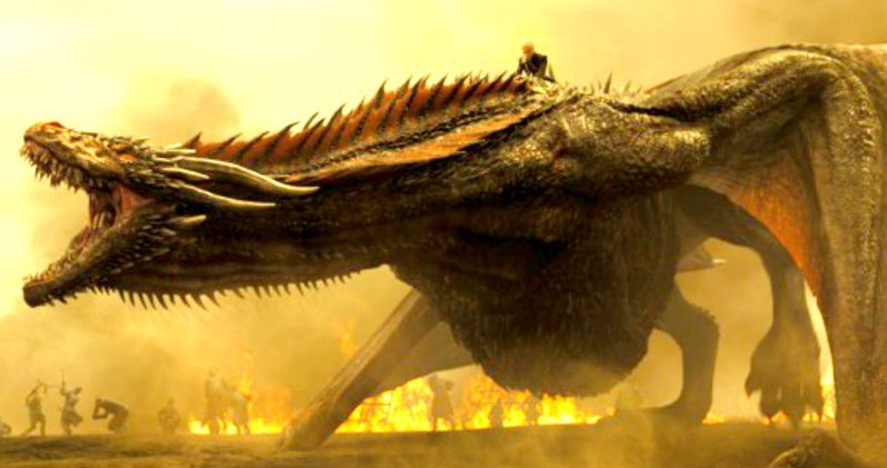 First Look at Game of Thrones Season 7 Dragons & More