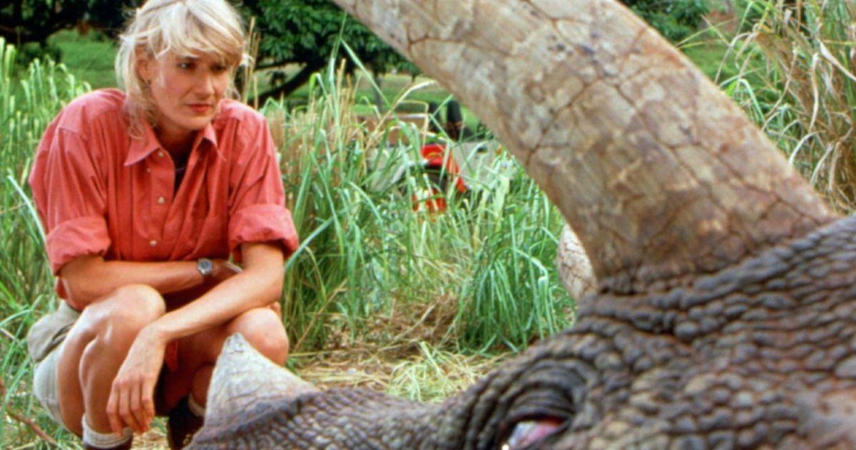 Jurassic World 3 Animatronic Dinosaur Revealed, Laura Dern Hypes Up Her Return