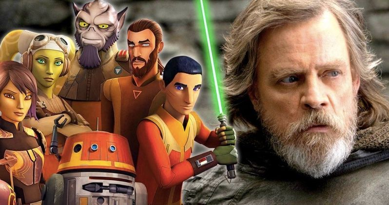 Star Wars 9 to Pair Luke in Battle with Surprise Star Wars Rebels Character?