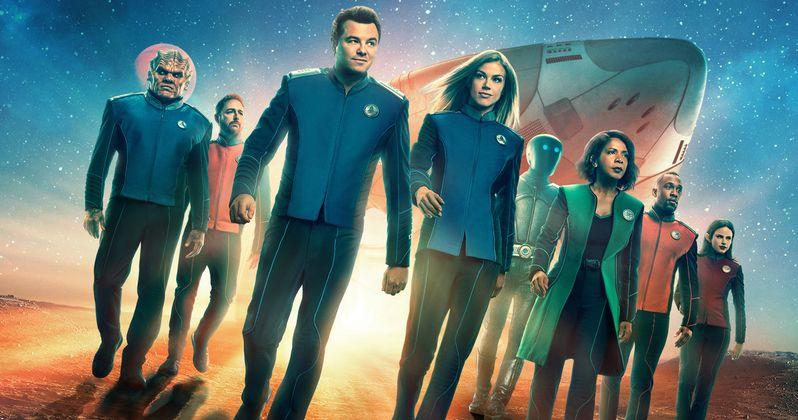 The Orville Renewed for Season 3 on Fox