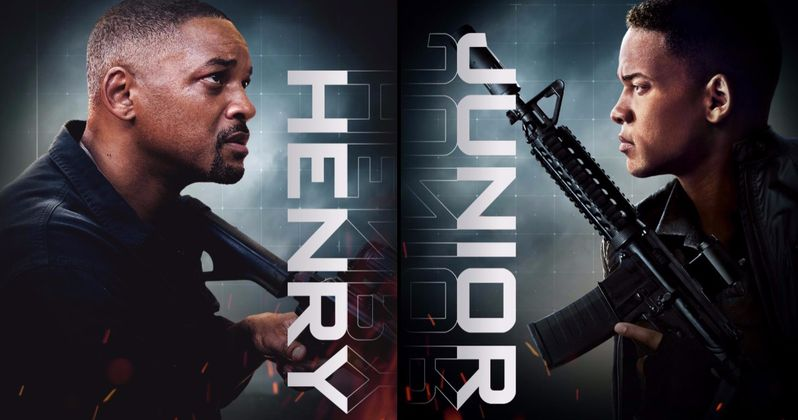 First Gemini Man Clip Brings Will Smith Face to Face with His Junior Self