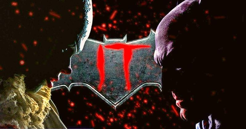 Batman Battles Pennywise in IT Mashup Trailer