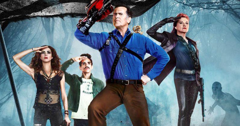 Take Home Ash Vs. Evil Dead Season 2 on Blu-ray