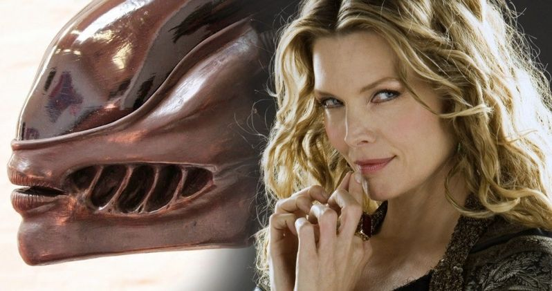 Alien 3 Xenomorph Has Michelle Pfeiffer's Lips