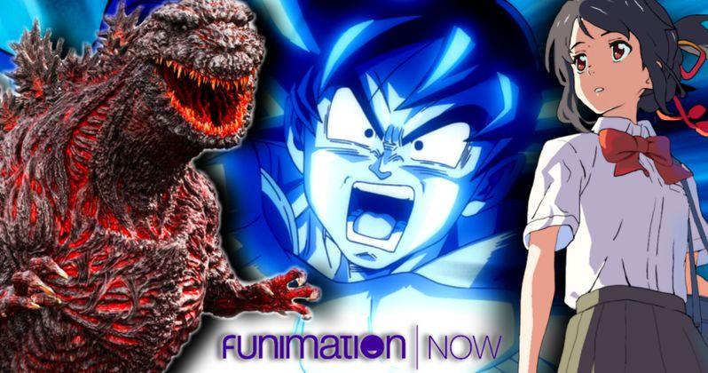 Shin Godzilla & Dragon Ball Z Headline FunimationNow's Summer Streaming Lineup