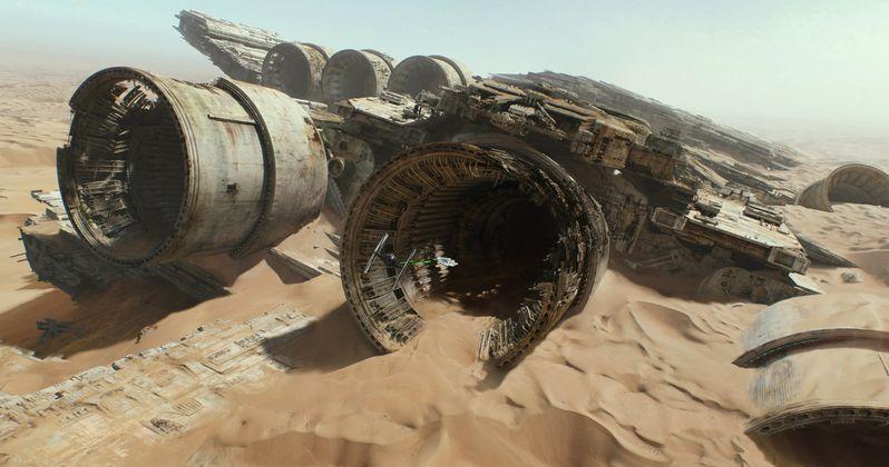 Explore Jakku in Star Wars: The Force Awakens 360 Degree Video