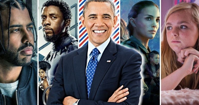 Obama Reveals His 15 Favorite Movies of 2018