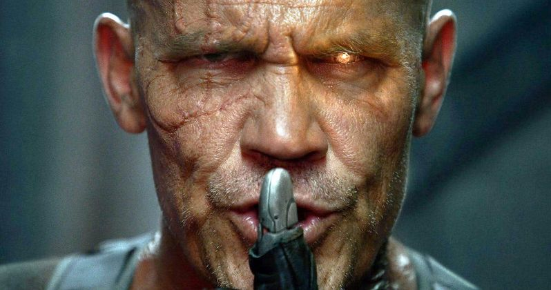Cable Gets Dirty in Fresh Deadpool 2 Photo