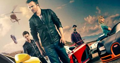 Need for Speed Cast Interviews with Aaron Paul | EXCLUSIVE