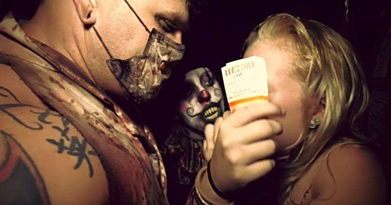 Family of Fear Trailer Enters One of America's Scariest Haunted Houses