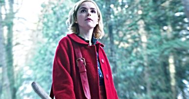 First Look at Kiernan Shipka in Netflix's Chilling Adventures of Sabrina