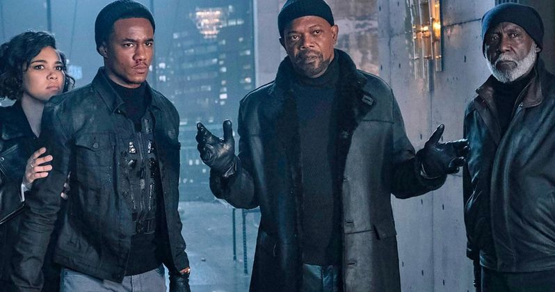 Shaft Family Reunites in First Look Featuring Jackson, Roundtree & Usher