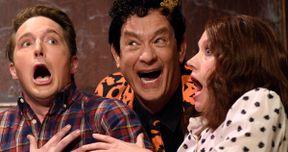 Watch Tom Hanks' David S. Pumpkins Invade Classic Horror Movies