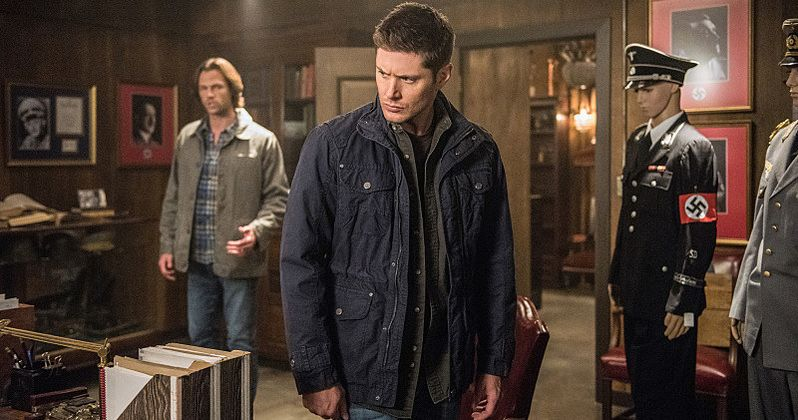 The Winchesters Have a Caffeine Breakdown in Supernatural Season 12 Blooper