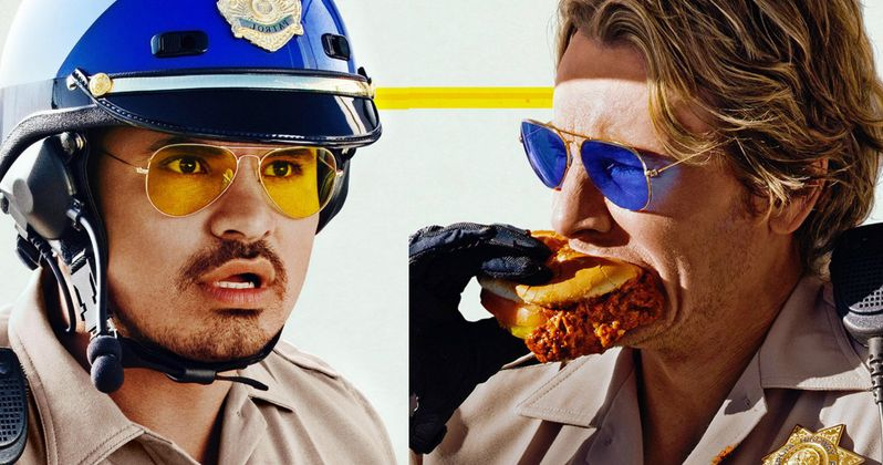 Ponch and Jon Return in CHiPs Movie Character Posters