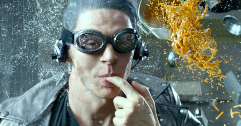 X-Men: Apocalypse Photo Teases Quicksilver Action Scene