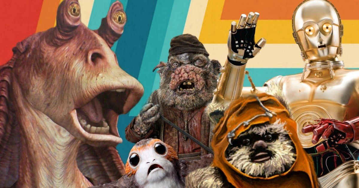 Why Jar Jar Got It Worse Than C-3PO and the Ewoks According to George Lucas
