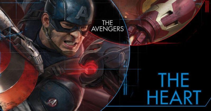 Avengers 2 Art Teases Captain America: Civil War Fight