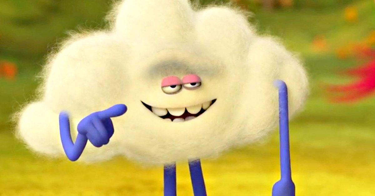First Trolls Clip Introduces the Cloud Guy
