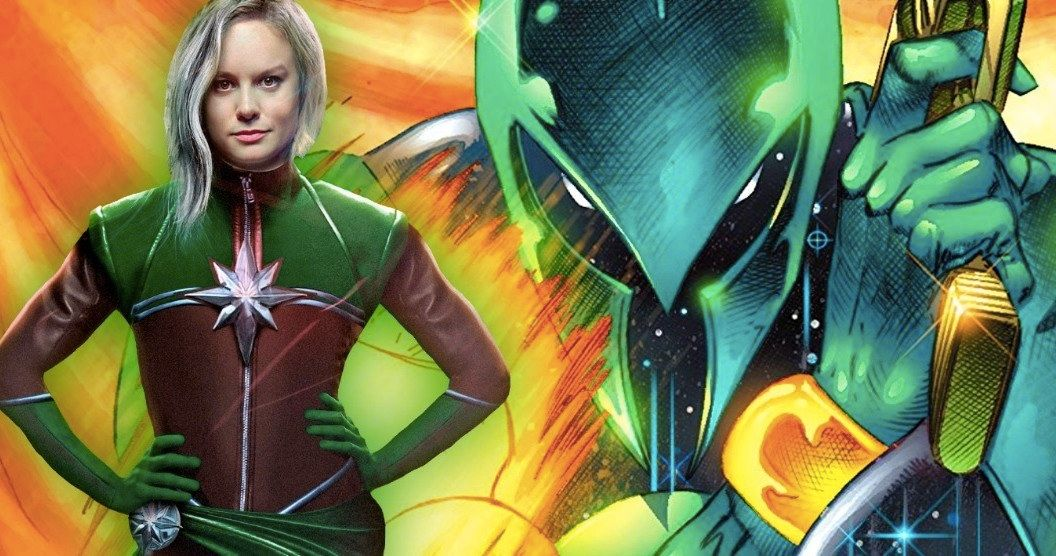 Brie Larson S Green Captain Marvel Costume Explained Captain marvel cosplay outfit avengers 4 endgame costume red suit with bootstop rated seller. green captain marvel costume explained