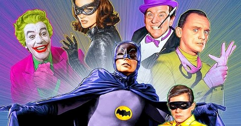 Batman 1966 Animated Movie Happening with Adam West & Burt Ward