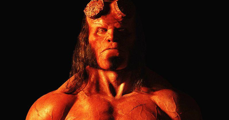 David Harbour as Hellboy Revealed