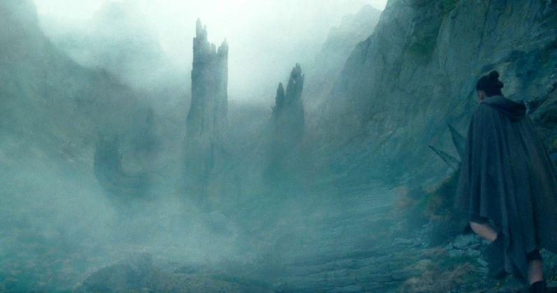 Last Jedi TV Spot Has New Rey, Force Tree Footage