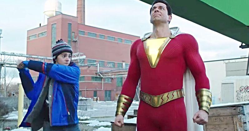 Shazam! TV Spot Sends Billy Batson Soaring Like Superman