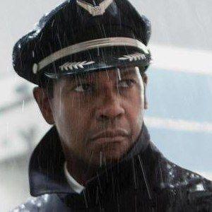 Three Flight Photos with Denzel Washington