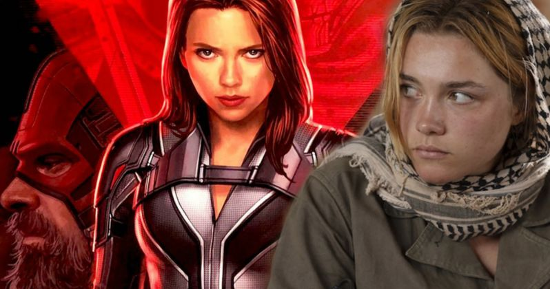 Black Widow Wraps Production, Florence Pugh and Crew Celebrate
