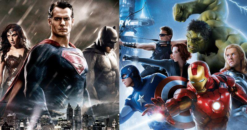 Marvel Skipping Comic-Con 2015 to Avoid Batman v Superman?
