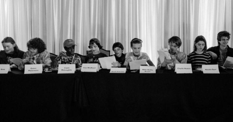 Stranger Things Season 2 Cast Photo Arrives as Shooting Begins