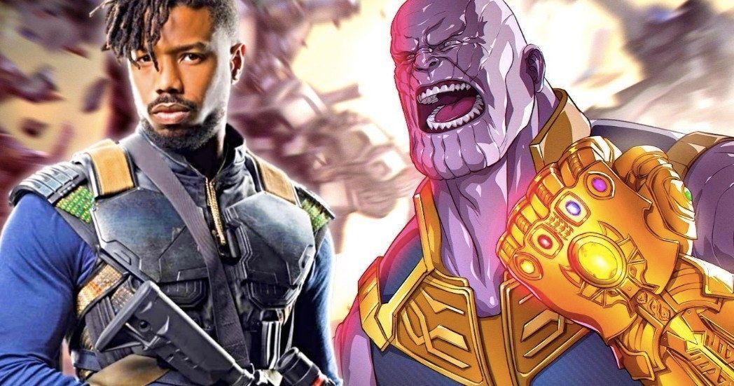 Michael B  Jordan Thinks Killmonger Can Beat Thanos - Movies