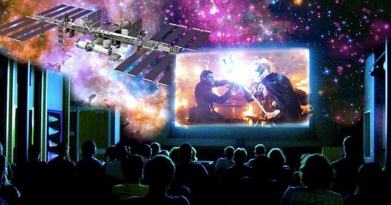 NASA Is Screening The Last Jedi in Space